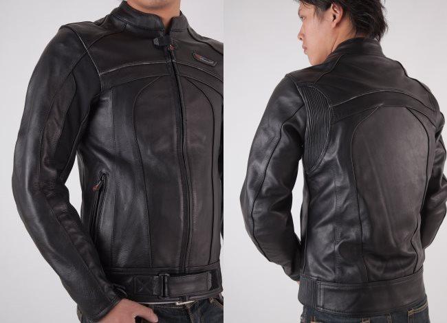 【RIDEZ】真皮外套運動型RLJ2402 - 「Webike-摩托百貨」