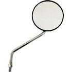 【MIRAX】MIRAX16 黒圓形支架型電鍍後視鏡 10mm