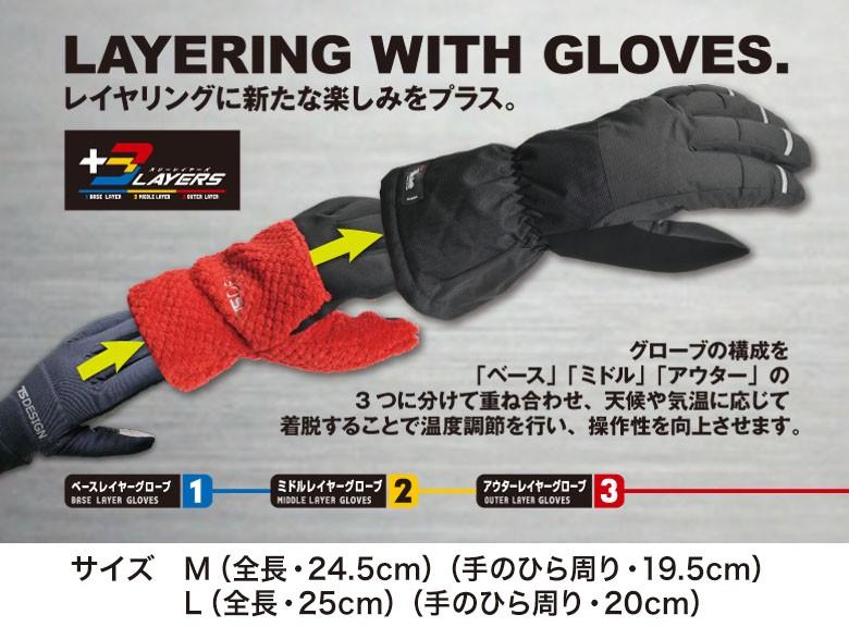 【TSDESIGN】Micro fleece手套 - 「Webike-摩托百貨」
