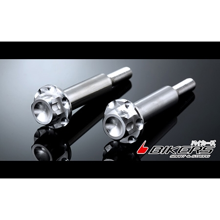 【BIKERS】Stainless Bolt For Brake Lever L R 不鏽鋼煞車拉桿螺絲2個入