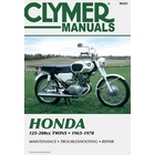 【CLYMER】SL175/CB175/CL175/CB160/CB125 維修手冊【英文修正版】