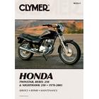 【CLYMER】CMX250C REBEL/CB250 維修手冊【英文修正版】