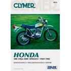 【CLYMER】SL125/TL125/TL250/TL125 IHATOVO/XL125/XL250/CB125 維修手冊【英文修正版】