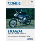 【CLYMER】CB250/CB350/SL350/CL250/CL350 維修手冊【英文修正版】