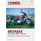 【CLYMER】CB360/CJ360T/CJ250T 維修手冊【英文修正版】