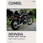 【CLYMER】CMX250C REBEL/CM400/CB400T 維修手冊【英文修正版】