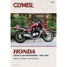 【CLYMER】CB550/CB650 維修手冊【英文修正版】