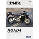 【CLYMER】CBR600RR/CBR600 維修手冊【英文修正版】