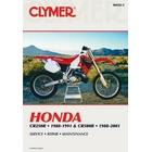 【CLYMER】CR250/CR500 維修手冊【英文修正版】