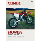 【CLYMER】CR250 維修手冊【英文修正版】