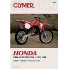 【CLYMER】CR80/CR125 維修手冊【英文修正版】
