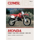 【CLYMER】CR125/CR80 維修手冊【英文修正版】