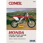 【CLYMER】CRF450/CRF250X/CRF450X/CRF250R 維修手冊【英文修正版】