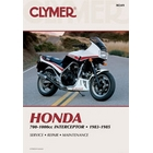 【CLYMER】VF750 Interceptor/VF1000 維修手冊【英文修正版】