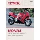 【CLYMER】VFR750 維修手冊【英文修正版】