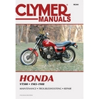 【CLYMER】VT500 維修手冊【英文修正版】