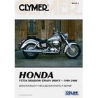 【CLYMER】SHADOW750/VT750 BLACKWIDOW/SHADOWSLASHER750 維修手冊【英文修正版】