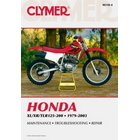 【CLYMER】TLR200/XL200/XR200/XL125 維修手冊【英文修正版】
