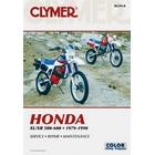 【CLYMER】XL500/XL600/XR600 維修手冊【英文修正版】