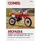【CLYMER】XR350/XR200/XL250/XR250 維修手冊【英文修正版】
