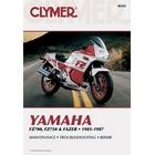 【CLYMER】FZ750 維修手冊【英文修正版】