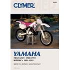 【CLYMER】WR250Z/YZ125/YZ250 維修手冊【英文修正版】
