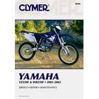 【CLYMER】WR250F/YZ250F 維修手冊【英文修正版】
