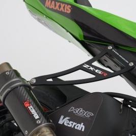【R&G】排氣管吊架【消音器支架】 + 踏板移除飾板套件【Exhaust Hanger And Footrest Blanking Plate】■