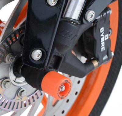 【R&G】前軸保護滑塊 (防倒球)