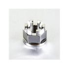 【PRO BOLT】螺帽 M18x1.5 鈦合金 Pro-Bolt 27mm 城堡螺帽【歐洲進口商品】