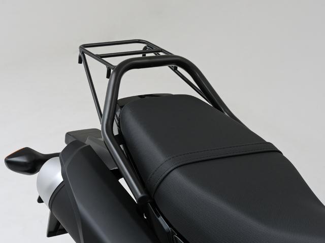 扶手式後貨架 GROM用 黑色