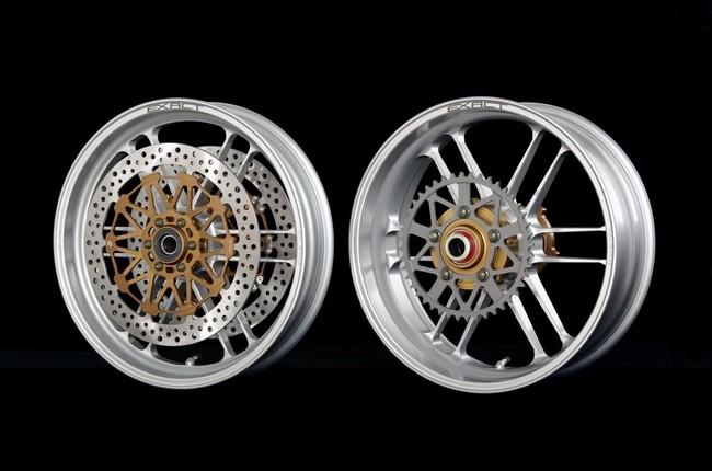 EXACTII 全鍛造鋁合金輪框 (附煞車碟盤)
