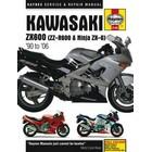 【HAYNES】NINJA ZX-6R/ZZR600 維修手冊 【英文加筆版】