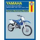 【HAYNES】YZ80/YZ85/YZ125/YZ250 維修手冊 【英文加筆版】