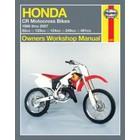【HAYNES】CR500/CR85/CR80/CR125/CR250 維修手冊 【英文加筆版】