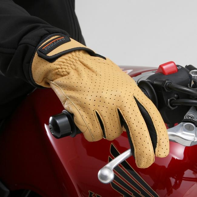 【DAYTONA】山羊皮打孔網格手套 標準型式 - 「Webike-摩托百貨」