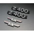 Z400FX Side Cover Emblem Set