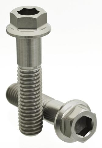 Compact 6角墊圈頭螺絲 M10×25L×P1.5 螺紋長度16mm