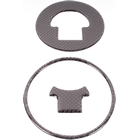 【IMPACT】【OUTLET商品】碳纖維油箱蓋保護貼片 HONDA Type2