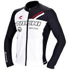 【RS TAICHI】Cool Ride拉鍊 內層外套 RACER WHITE L