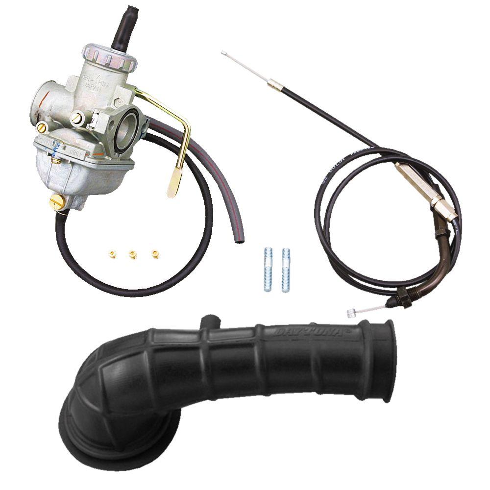 普通空氣濾清器對應 PC20大口徑化油器套件