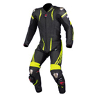 KOMINE S-48 Titanium Leather Suit - RAVENNA