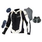 KOMINE JK-082 Slim Fit Mesh Jacket 3D