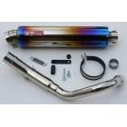 【K2TEC】HORNET 250 NITRO 鈦合金排氣管尾段
