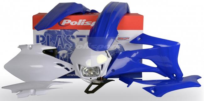 【POLISPORT】ENDURO 完整套件 (全套組外觀) - 「Webike-摩托百貨」