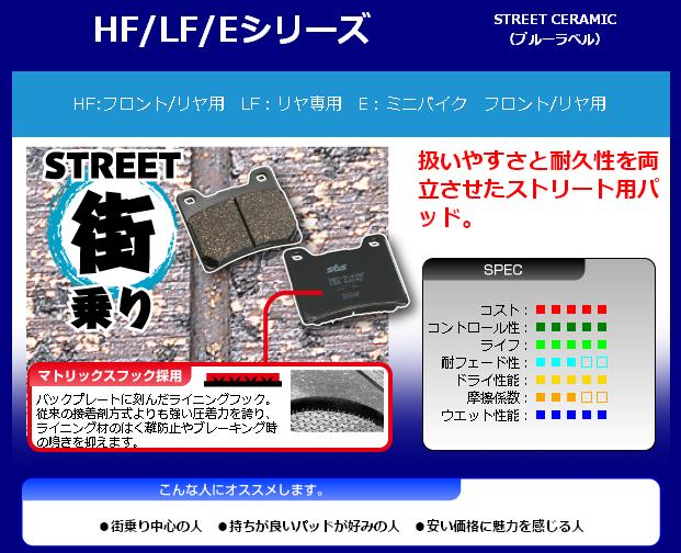 【SBS】 E110 道路版 陶瓷煞車來令片