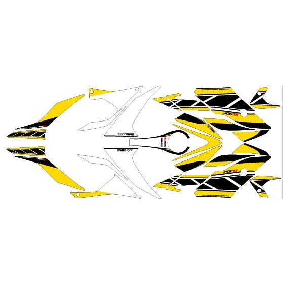 車種區別 圖形貼紙套件 YZF-R3/R25