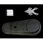 【Neofactory】Slim Line 皮帶套件用 碳纖維皮帶護蓋