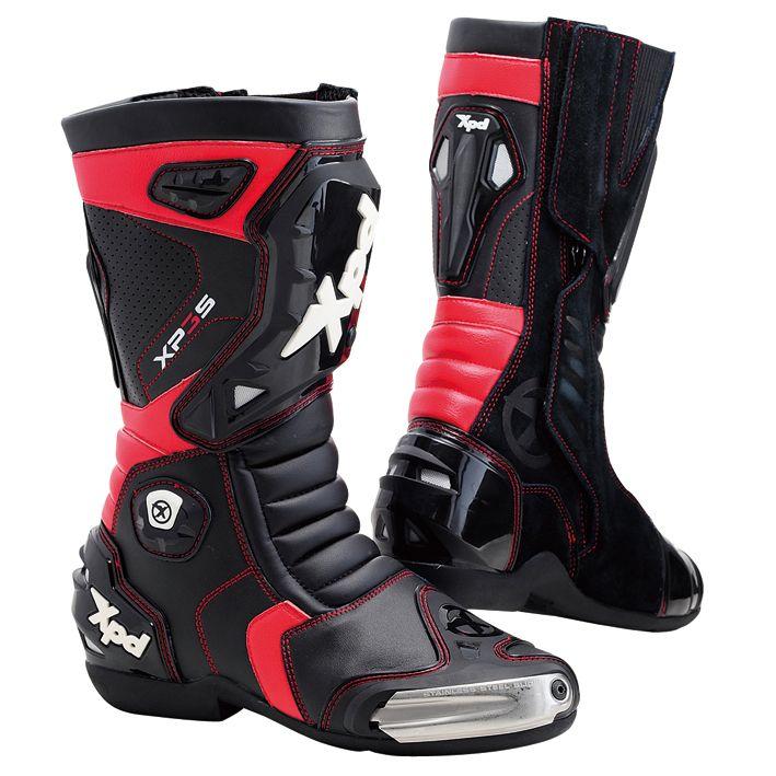 XP-3S 賽車靴(黑/紅)