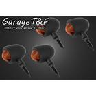 【Garage T&F】Small Brett Blinker方向燈(四個一組)黑色支架F